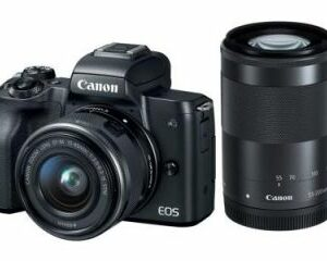 Canon EOS M50 EF-M 15-45mm Mirrorless Camera